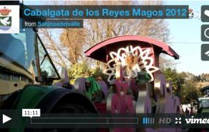 Video resumen de la Cabalgata de los Reyes Magos 2012