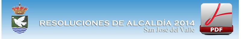 resoluciones 2014