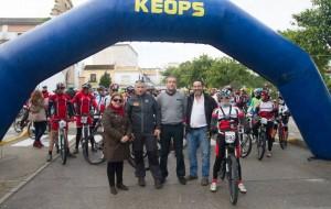 Gran éxito la I Cicloturista Andalucía Típica, Cruz del Valle