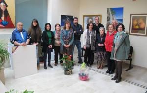 """Inaugurada la exposición de pinturas """" Mujeres del pueblo"""""""