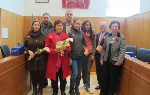 Ganadores del concurso de Poesías de San Valentín.