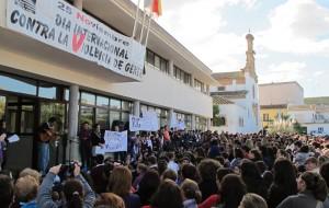Nuestro pueblo celebró el día internacional contra la violencia de género.