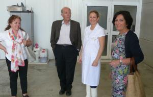Visita Presidencia Quesería Andazul