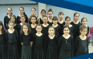 Actuación de la Escuela municipal de Baile