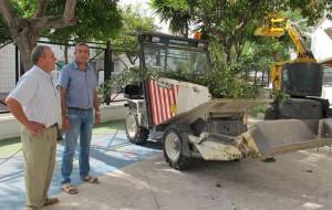 El Ayuntamiento pone a punto el Colegio Público Ernesto Olivares para el próximo curso