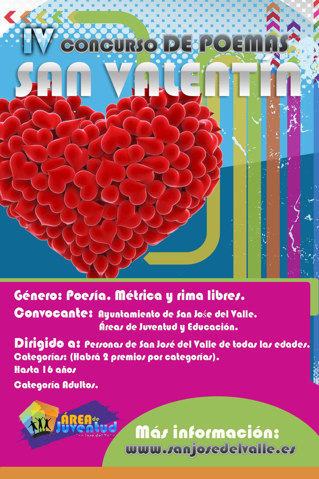 Iv Concurso De Poemas San Valentín Web Oficial Del Ayuntamiento