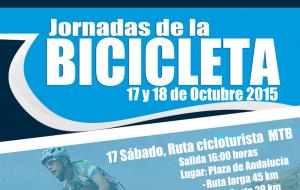 Quedan aplazadas  las Jornadas de la Bicicleta