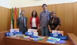 Diputación hace entrega de material escolar a jóvenes  de nuestro Pueblo.