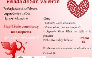 Velada San Valentín 2.016 de Mayores Activ@s