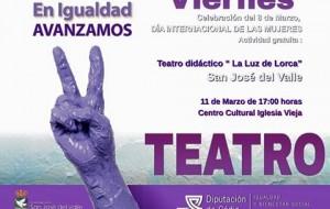 """Teatro didáctico """"La luz de Lorca"""""""