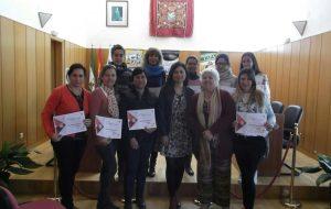 Clausura curso de liderazgo femenino