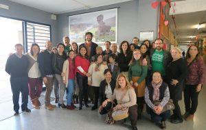 El Delegado de Educación visita los Centros Públicos de San José del Valle