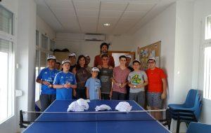 Entrega de premios en la Casa de la Juventud de los campeonatos  de Ajedrez ,FIFA y tenis de mesa .