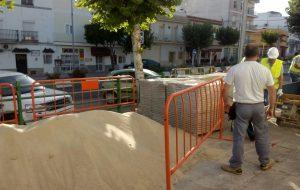 Comienzan las obras de la Avenida, calle Pino, cuesta San Antonio y calle Antonio Ramírez