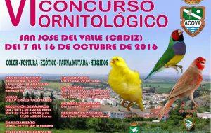 VI Concurso Ornitológico