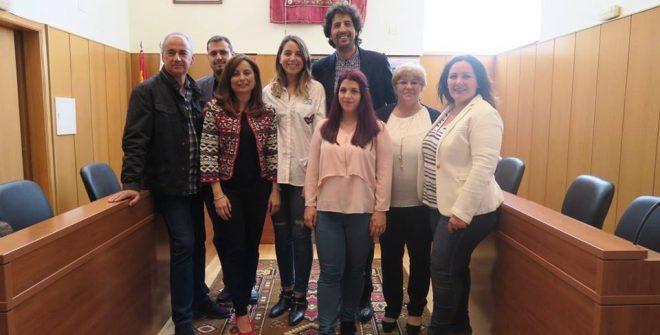 """Ganadores en el concurso """"Historia de San José del Valle 2017""""."""