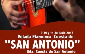 "Velada flamenca ""Cuesta de San Antonio"""
