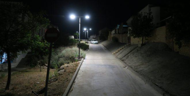 Nueva instalaciones de alumbrado público en nuestro pueblo