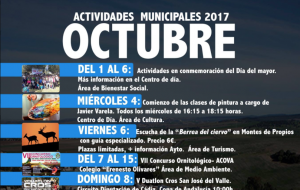 "Actividades Municipales 2017 ""Octubre"""