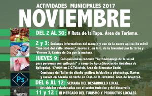"Actividades Municipales 2017 ""Noviembre"""