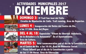 """Actividades Municipales """"Diciembre"""" 2017"""