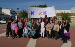 Conmemoración por el Día Contra la Violencia de género.