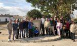 """Inaugurado el nuevo Parque biosaludable """"José Navarro"""" en la barriada de Alcornocalejos."""
