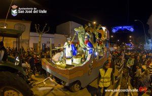 El Ayuntamiento de San José del Valle informa sobre la Cabalgata de Reyes Magos 2018:
