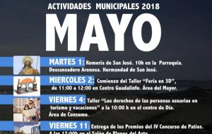 Programación de Actividades Municipales Mayo 2018