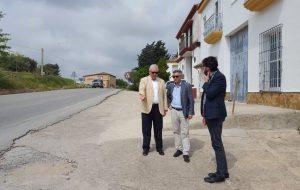 Visita del Delegado Territorial de Fomento y Vivienda a San José del Valle.
