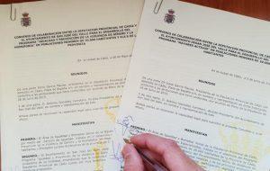 Firmado el Convenio de continuidad de MAYORES ACTIVOS y del Plan de Prevención de Violencia de Género.