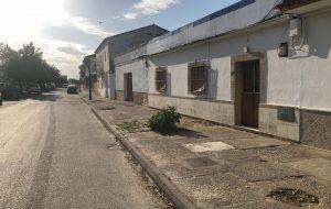 Comienzan las Obras en la Plaza Trasera de la Iglesia yel acerado de C/Parada Fdez.