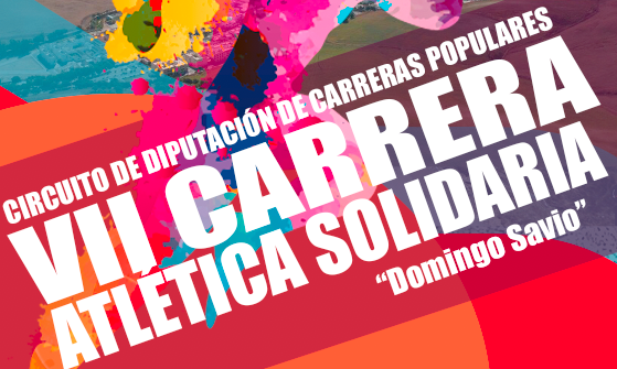 VII Carrera Atlética Solidaria DOMINGO SAVIO