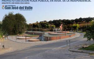 Proyecto de entrada de nuestro pueblo por la Avenida de la Independencia.
