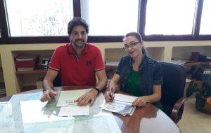Firmado el Convenio con Profesionales Autónomos (UPTA) para la formación de trabajador@s autónomos en San José del Valle.