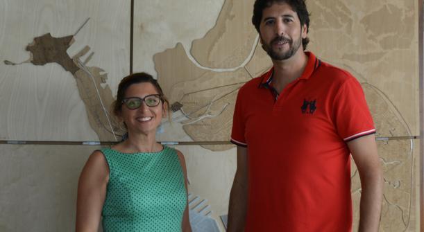 Visita institucional del alcalde de San José del Valle a Zona Franca