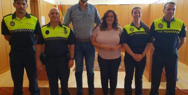 Toma de posesión de los nuevos Policías Locales de nuestro pueblo.