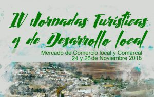 NUEVA FECHA – IV Jornadas Turísticas y de Desarrollo Local.