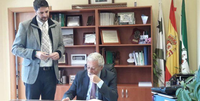 Visita Oficial del Defensor del Pueblo Andaluz a nuestro pueblo.