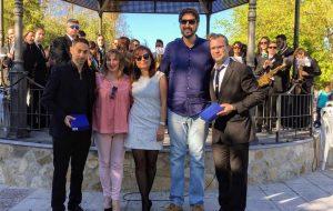 Éxito en el XVII del Certamen de Bandas celebrado en nuestro pueblo con la participación este año de la Banda de Música del pueblo vecino de Algar