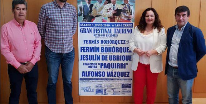 PRESENTADO EL CARTEL DE FERIA 2019 Y DEL FESTIVAL TAURINO.