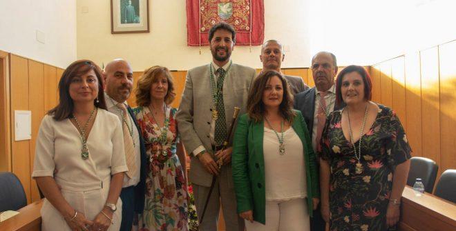 Equipo de Gobierno y Áreas 2019-2023 del Ayuntamiento de San José del Valle.