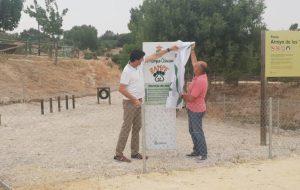 Inaugurado el Parque Canino «Zampe».