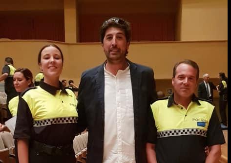 Los Agentes Joaquín Pereyra Luque y Cristina Rodríguez Garcia ya son oficialmente Policías Locales de nuestro pueblo.