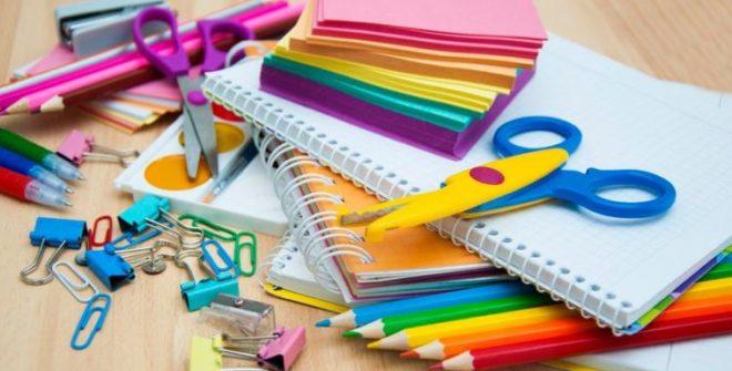 Programa de ayuda de Material Escolar.