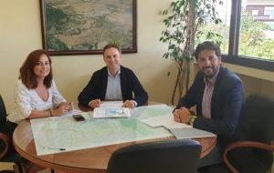 Visita Institucional del Diputado Provincial de Servicios Sociales a nuestro pueblo.