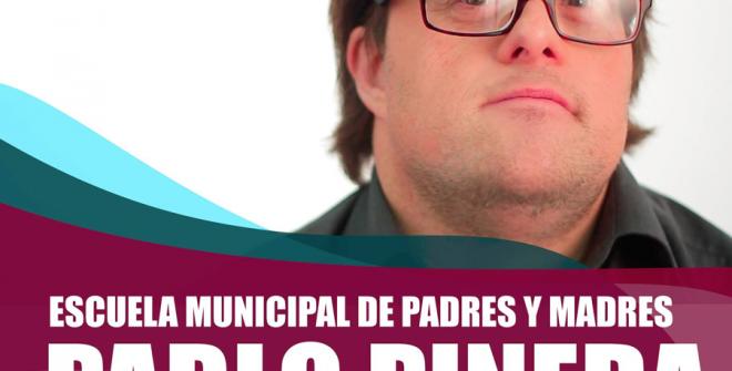 Escuela Municipal de Padres y Madres con Pablo Pineda.