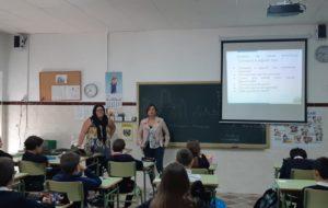 Programa de coeducación organizados entre la Diputación de Cádiz y el Área de bienestar social del Ayuntamiento de San José del Valle.
