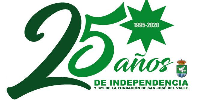 Presentamos el logo conmemorativo del 2020, aniversario de la Independencia y la Fundación de nuestro pueblo.