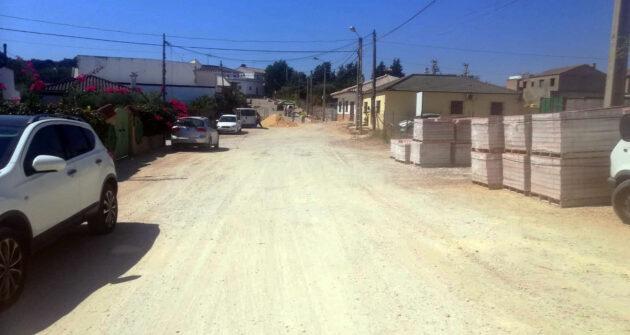 Aprobados 324.000 euros para culminar la calle Jesús Bueno en la barriada La Parada.